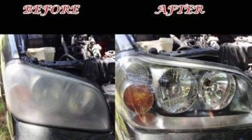 How To Clean Yellow Or Oxidized Headlights