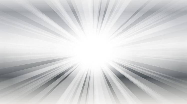 Lux indicates the brightness of a beam