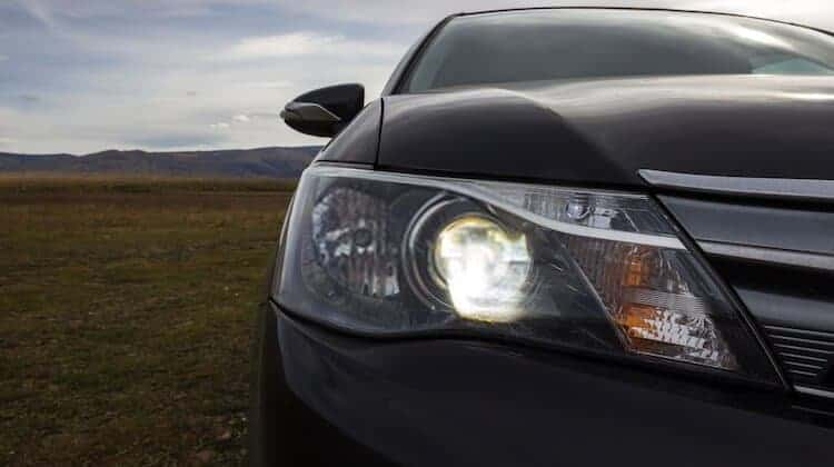 clean headlights with wd40