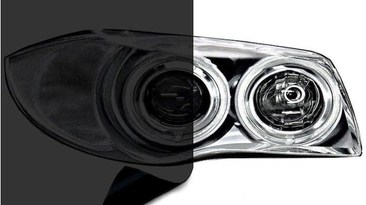 how to tint headlights