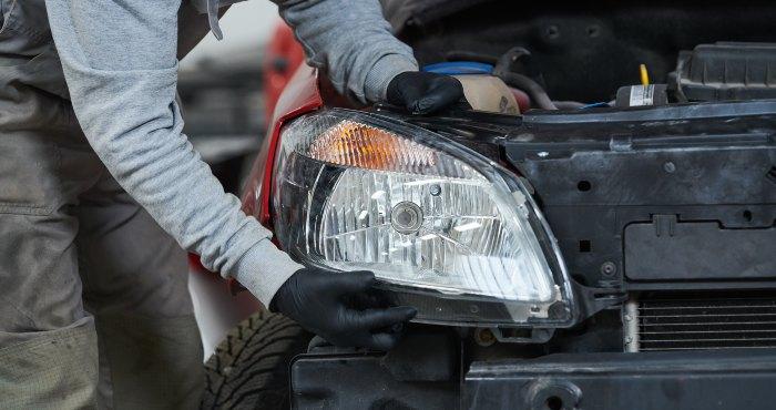 automobile headlight lamps