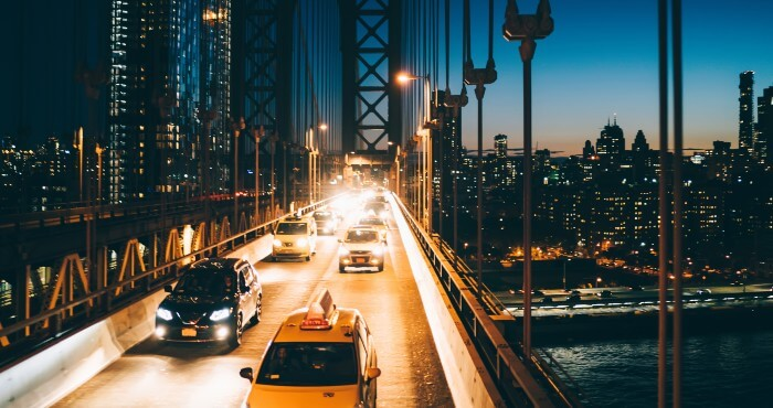 Cars With Bright Headlight