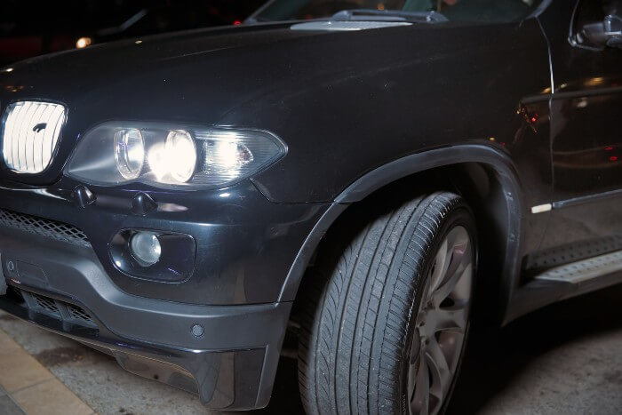 Cars With Headlights On