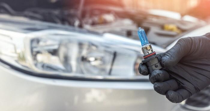 Fixing Car Headlight