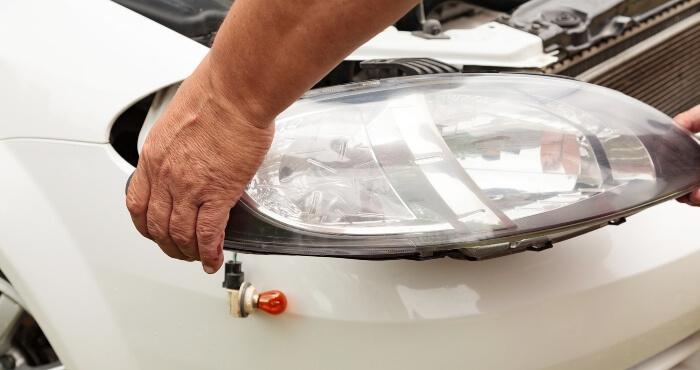 replacing headlight car